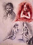 Bocetos de figura