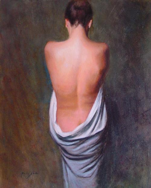 Estudio de espalda de mujer