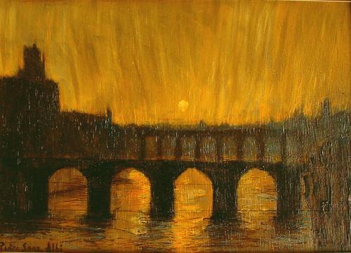 Puentes de Albi, el atardecer